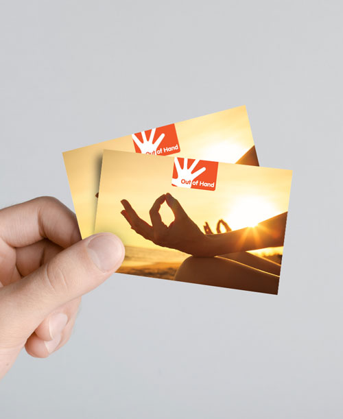 Business Cards / Laminated Products