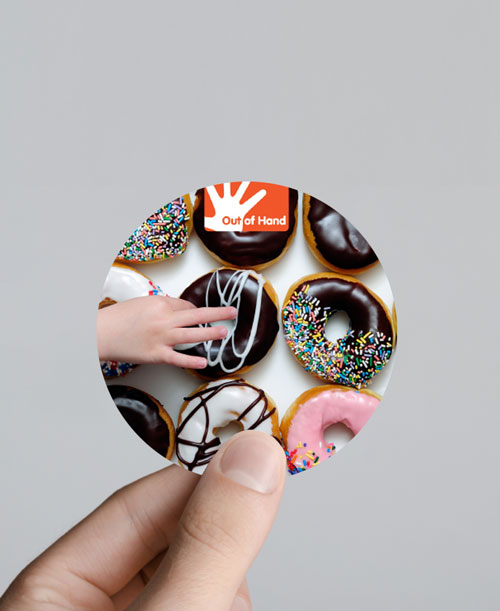 Stickers Circular